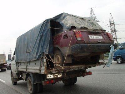 Фото грузовой перевозки в Львове